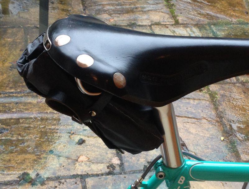 Tool roll on brooks saddle