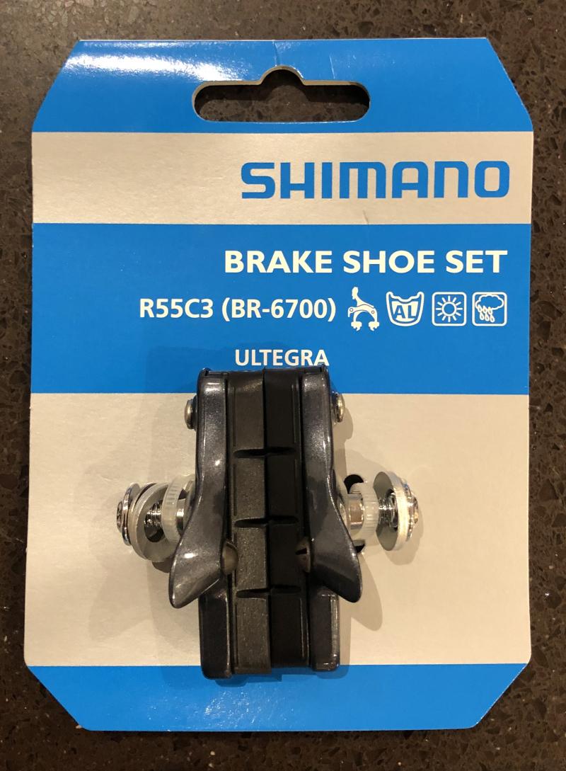 Shimano r55c3 brake pad holder